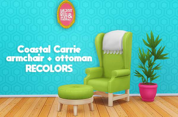 Кресло и тахта - coastal carrie recolors