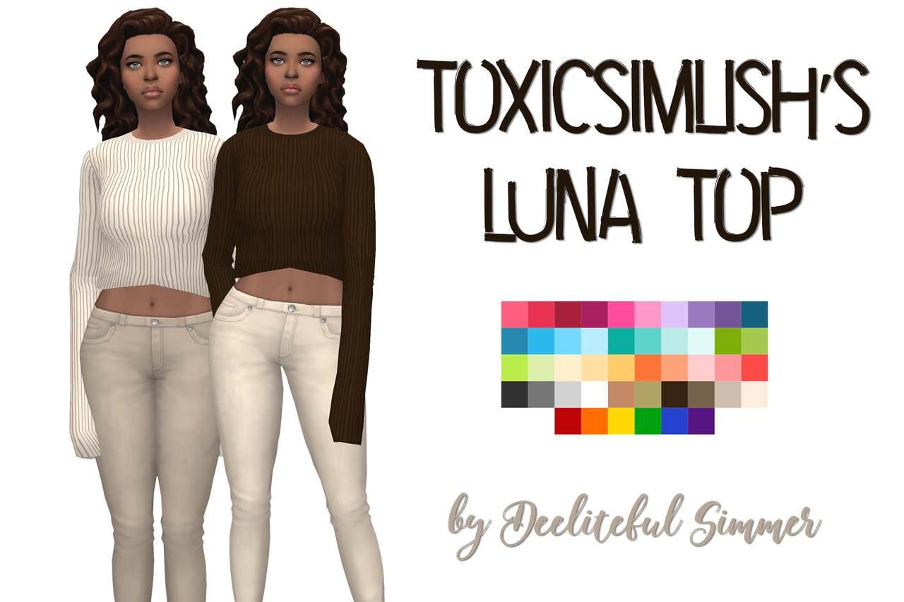 Свитер - toxicsimlish luna top