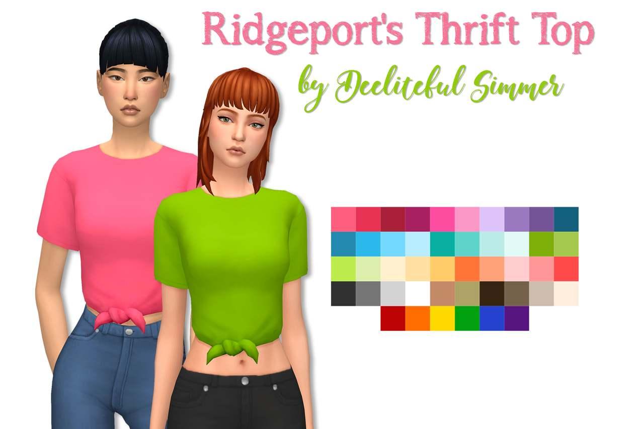 Футболка - ridgeport thrift tops