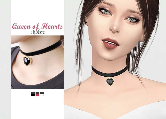 Чокер - Queen of Hearts Choker