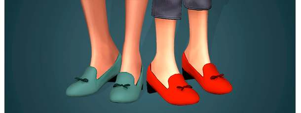 Лоферы - Olga Shoes