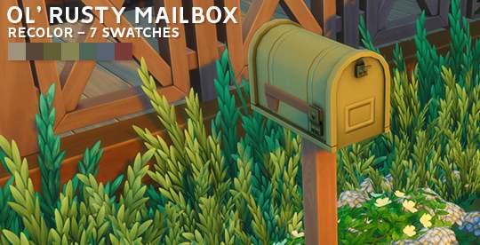 Почтовый ящик - Mailbox Recolor
