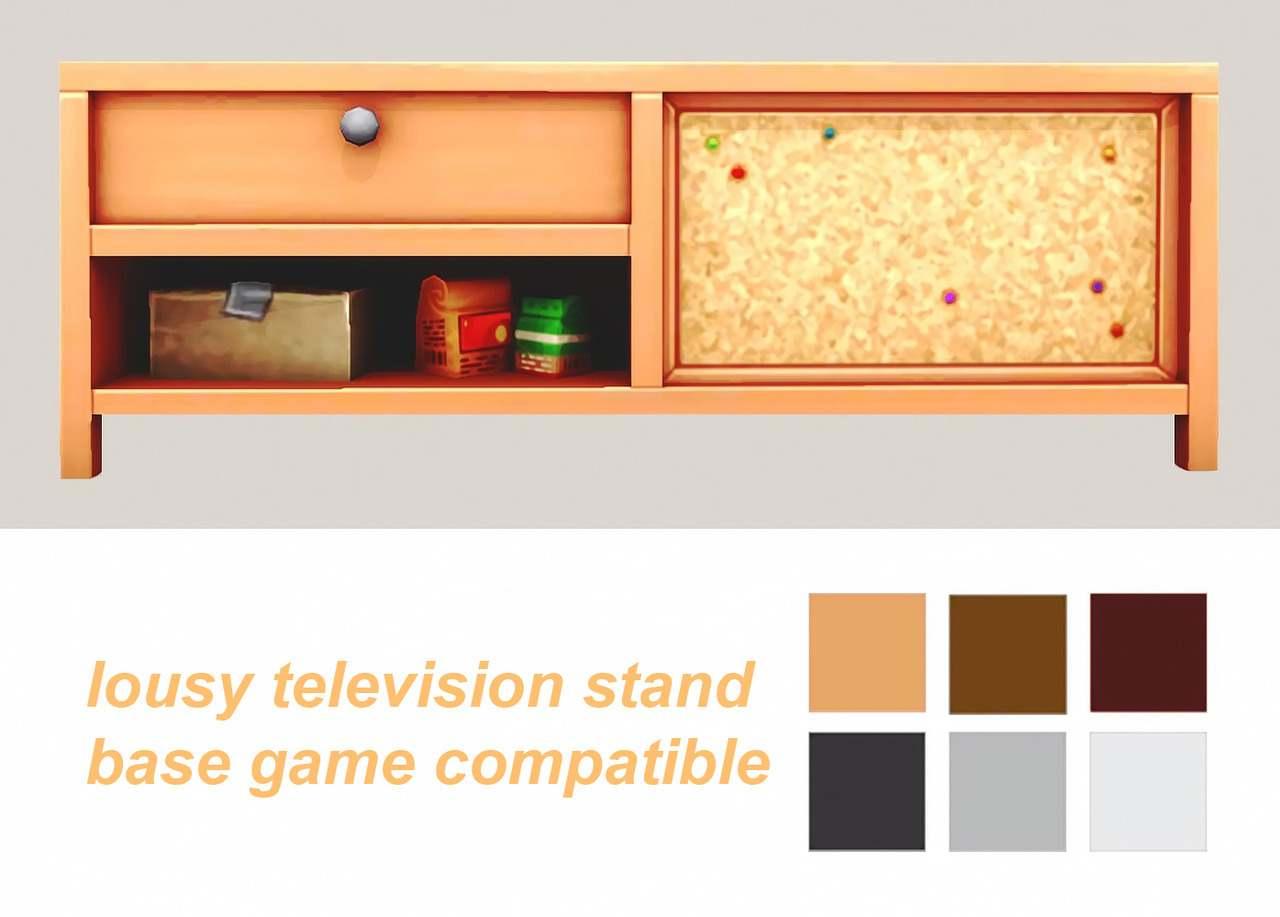 Тумба под ТВ - lousy TV stand