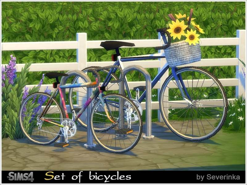 Велосипеды - Set of Bicycles