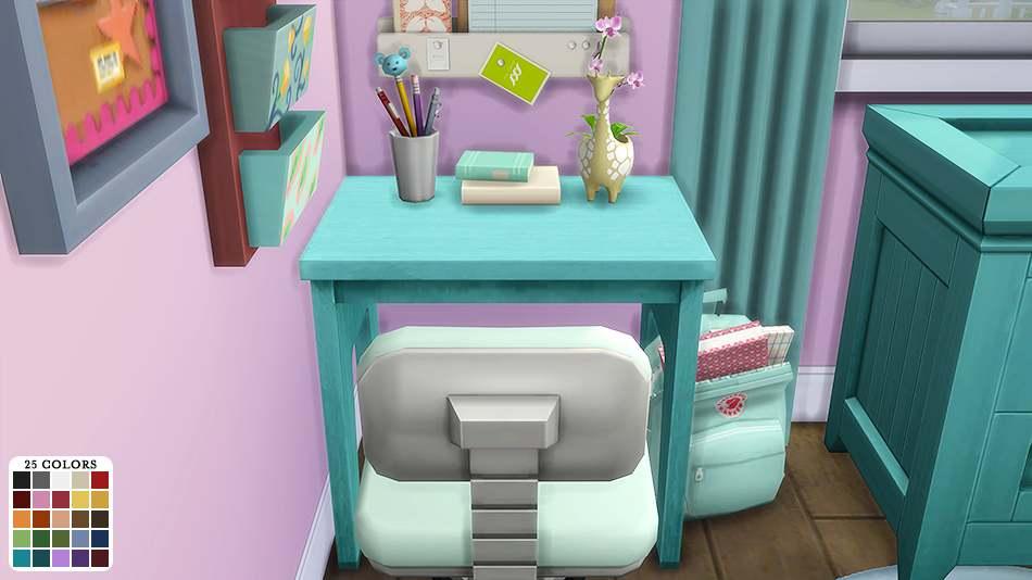 Стол - BroHill Kids Desk Recolors (Colorful)
