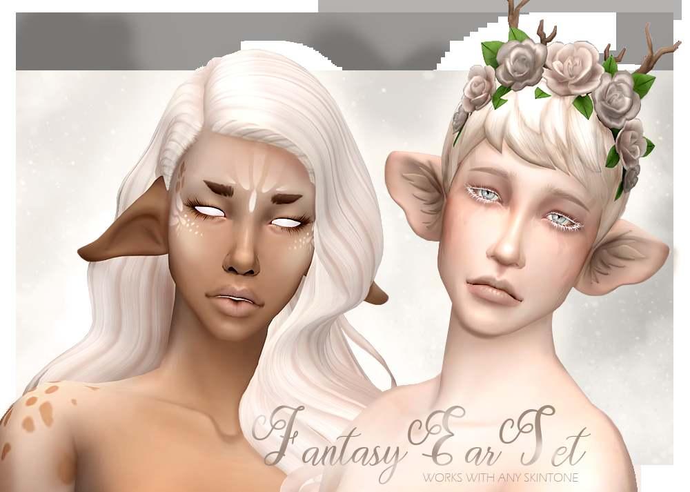 Набор ушей - Fantasy Ears Set