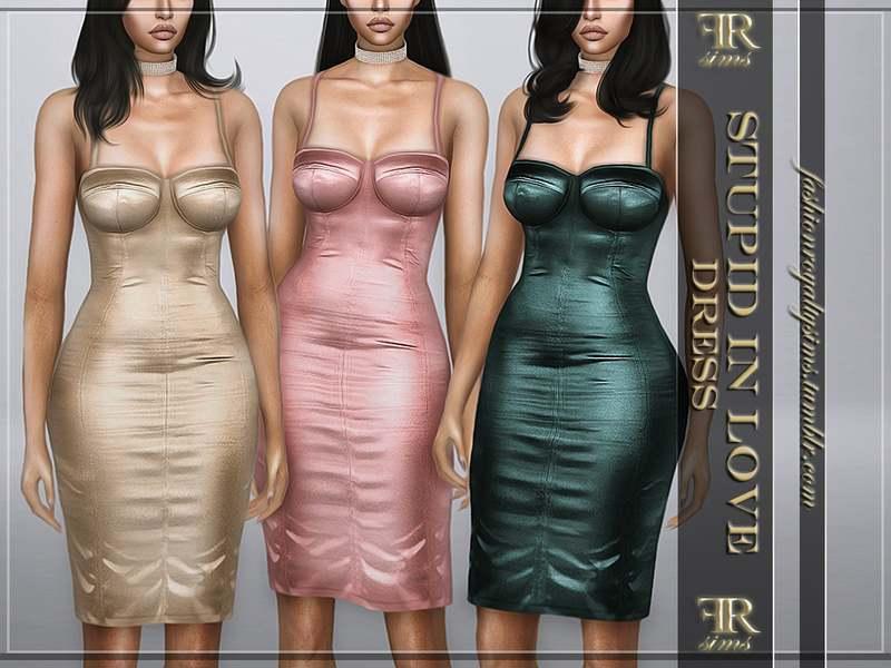 Платье - Stupid In Love Dress
