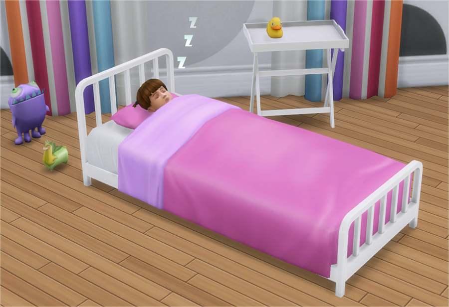 Кровать - Toddler Metal Bed Frame & Mattress