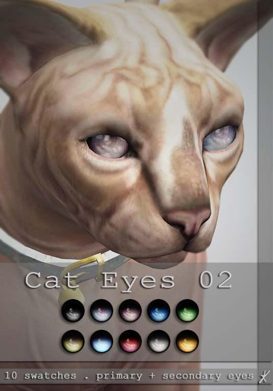 Линзы - cat eyes 02