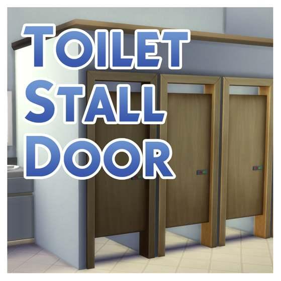 Дверь - Simple Toilet Stall Door