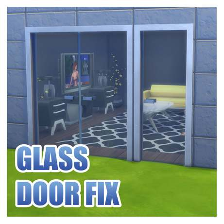 Набор дверей - Fix for Simple Glass Double Door and Stark Front Door