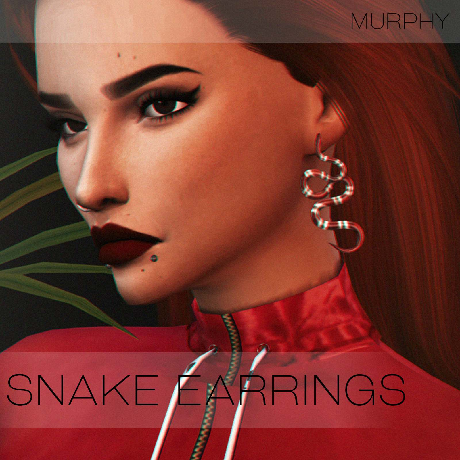 Серьги - Snake Earrings