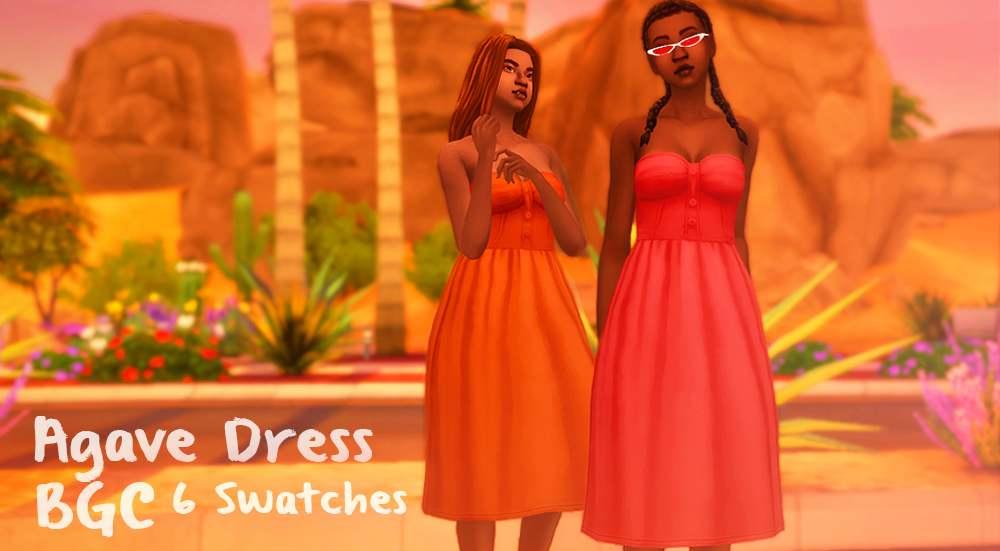 Платье - Agave Dress