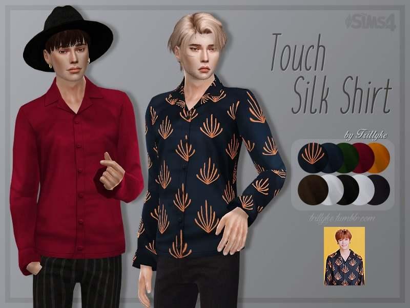 Рубашка - Touch Silk Shirt