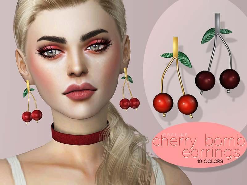 Серьги - Cherry Bomb Earrings