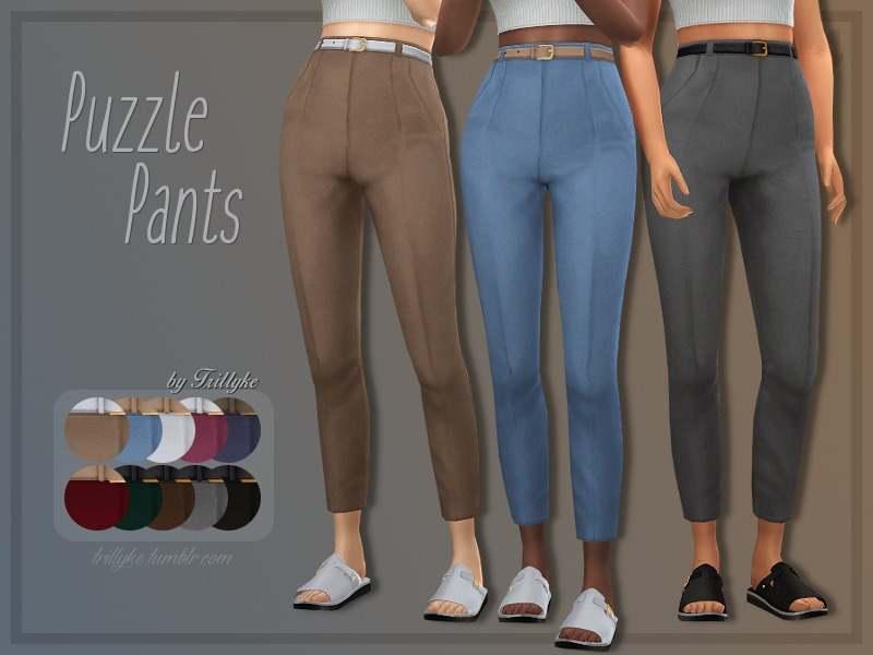Брюки - Puzzle Pants