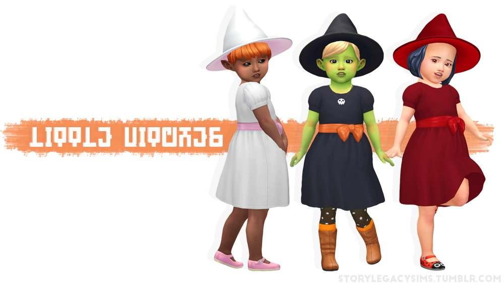 Сет для ведьмочки - LITTLE WITCHES