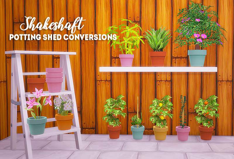 Набор комнатных растений - Shakeshaft potting shed conversions