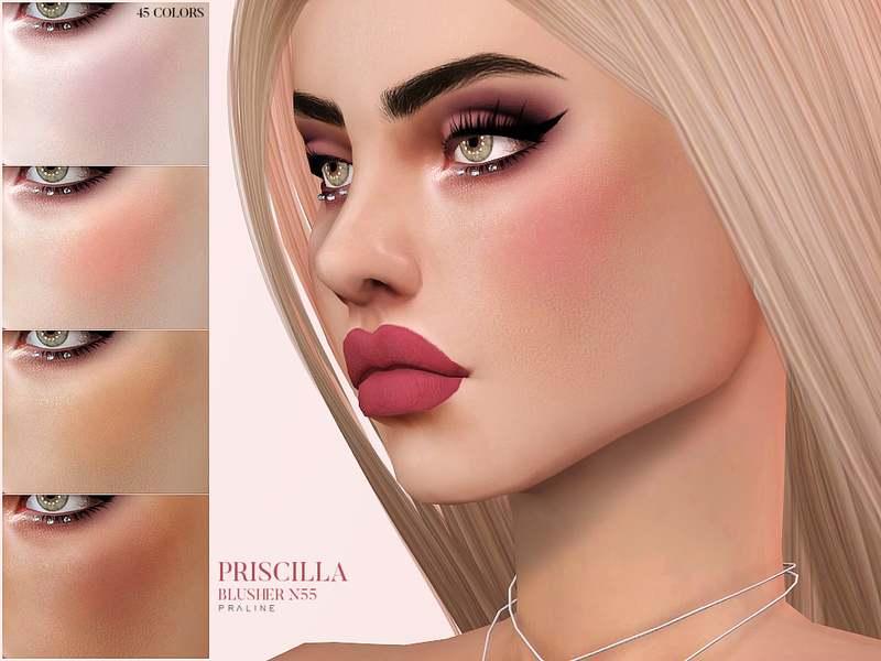 Румяна - Priscilla Blusher N55