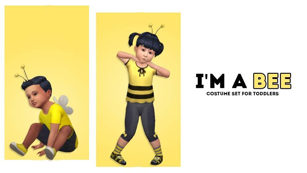 Костюм пчелки - I'm A Bee Costume for Tots