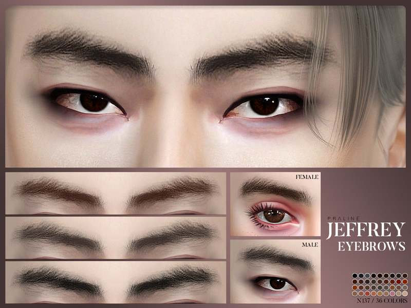 Брови - Jeffrey Eyebrows N137