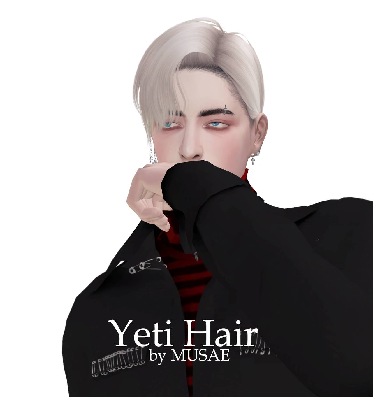 Мужская прическа - Yeti Hair