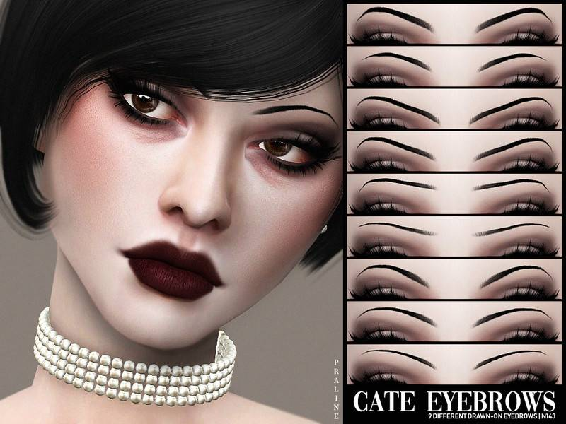 Набор бровей - Cate Eyebrows N143