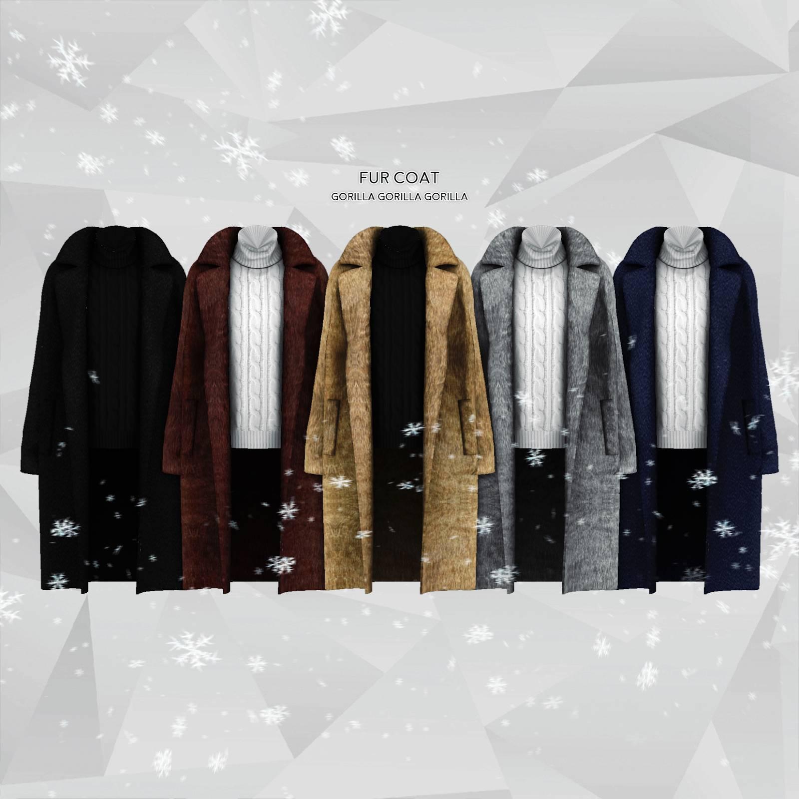 Комплект одежды - FUR COAT