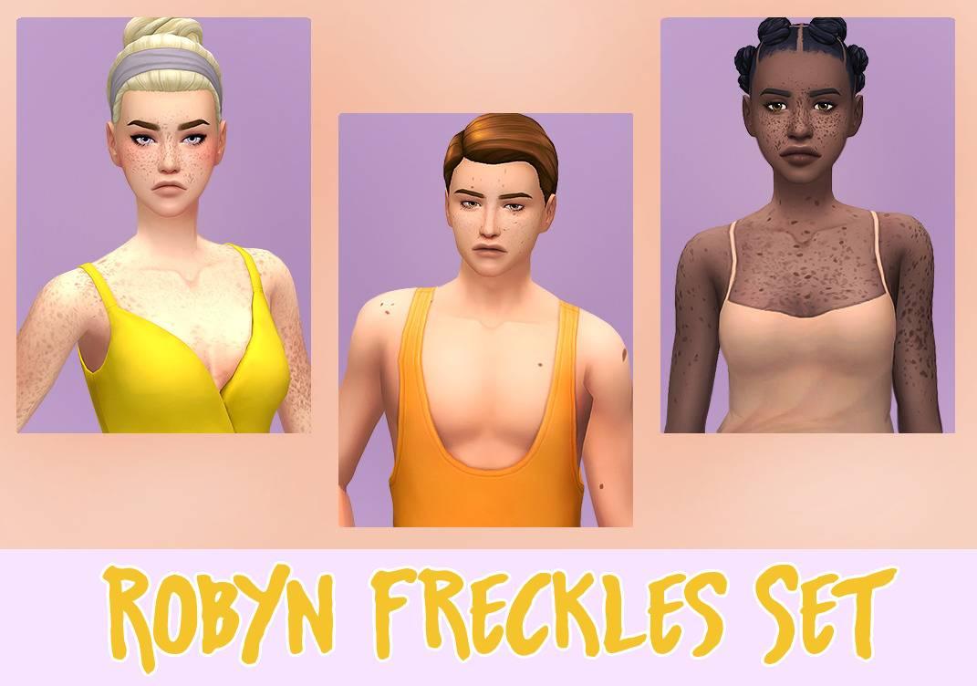 Набор веснушек - Robyn Freckles Set