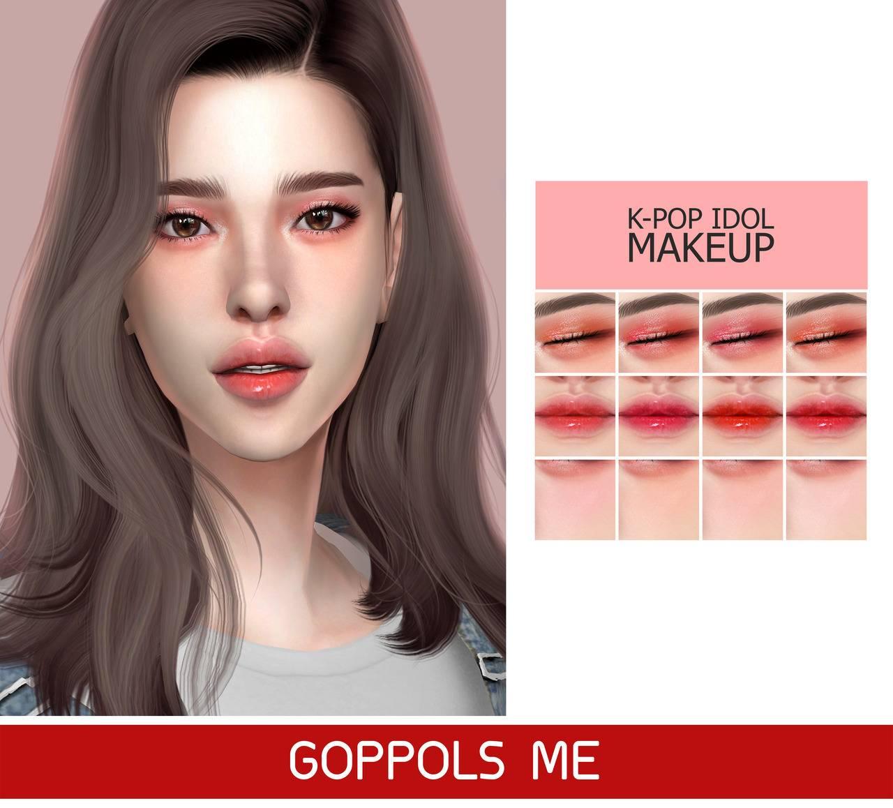 Набор косметики - Kpop Idol Makeup