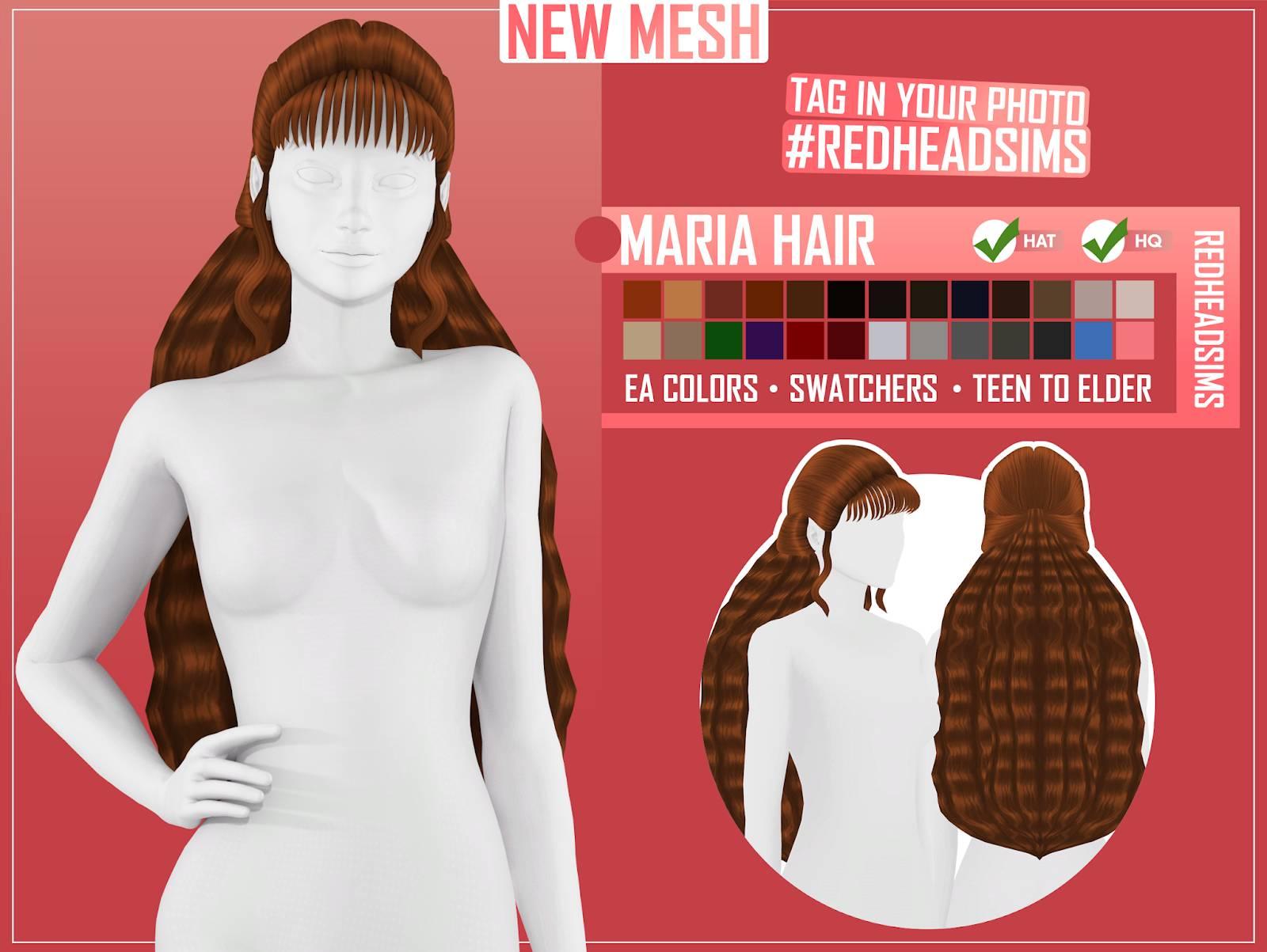 Женская прическа - MARIA HAIR
