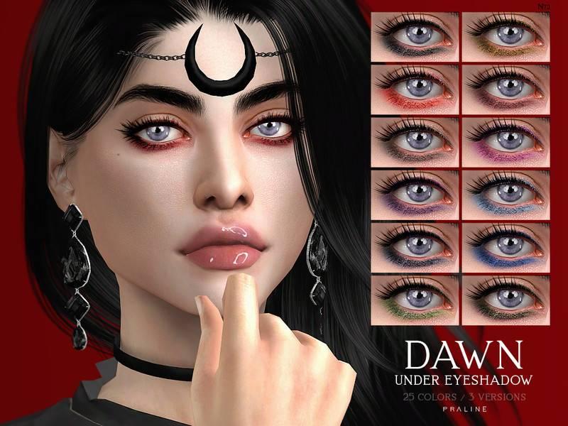 Тени для век - DAWN Under Eyeshadow N72