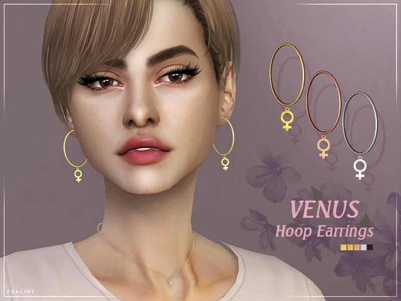 Серьги - Venus Hoop Earrings