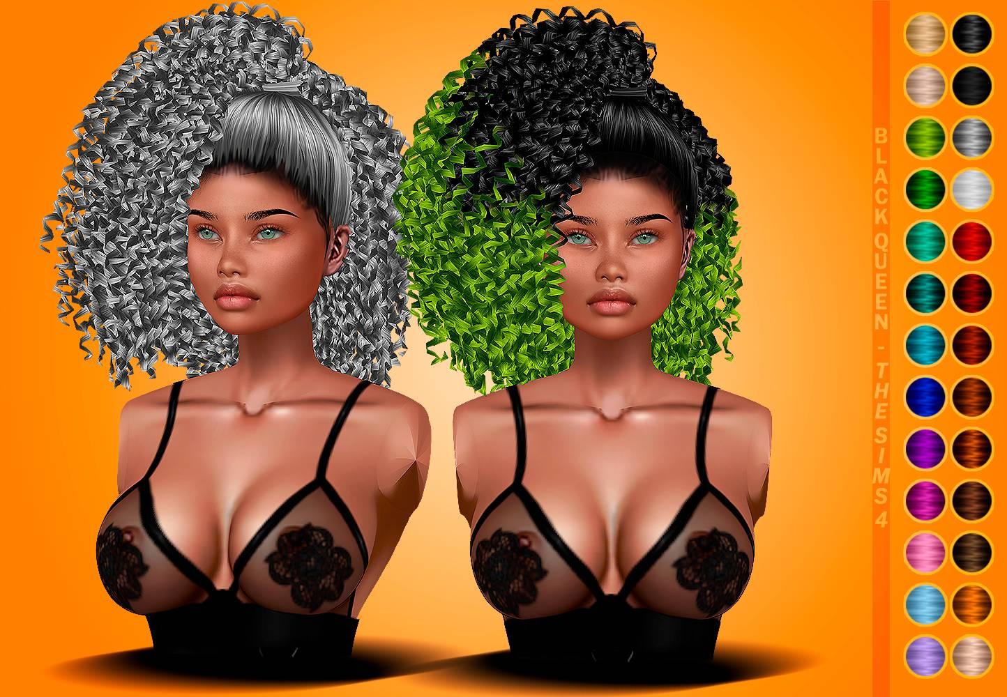 Женская прическа - Rolls Rolls Hair