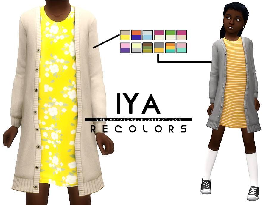 Платье и кардиган - IYA SWEATER DRESS RECOLORS