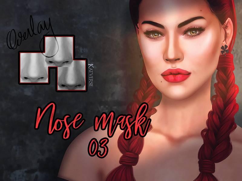 Маска для носа - Nose mask 03 Overlay
