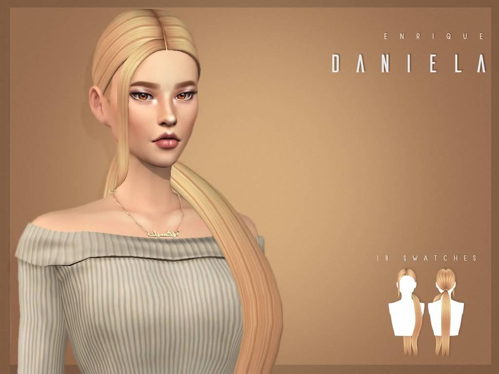 Женская прическа - DANIELA HAIRSTYLE
