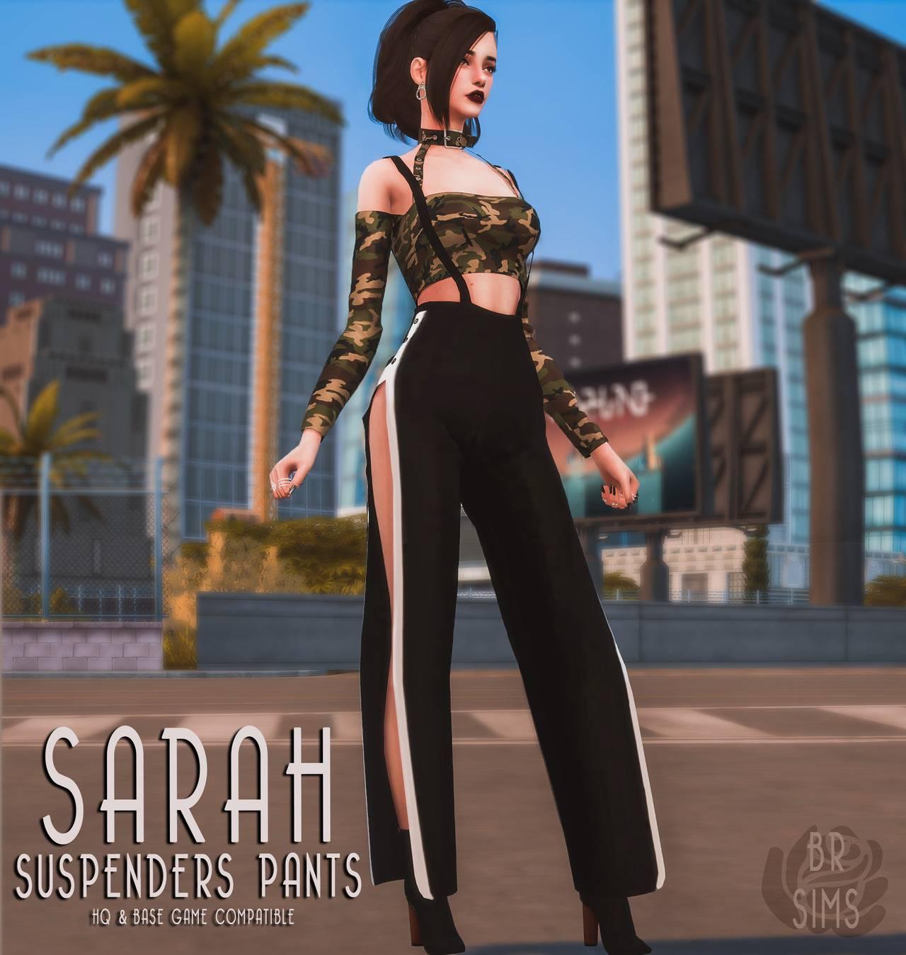 Брюки - Sarah Suspenders Pants