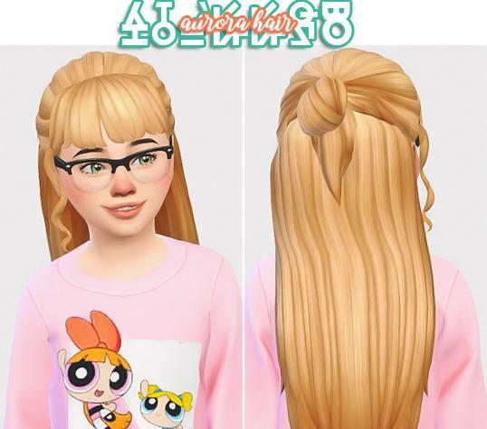 Детская прическа - Aurora Hair