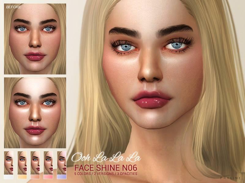 Блеск для лица - Ooh La La La Faceshine N06