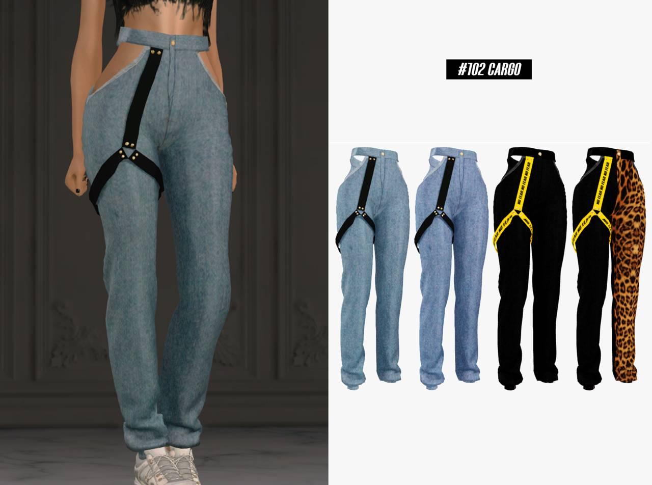 Штаны - Cargo pants