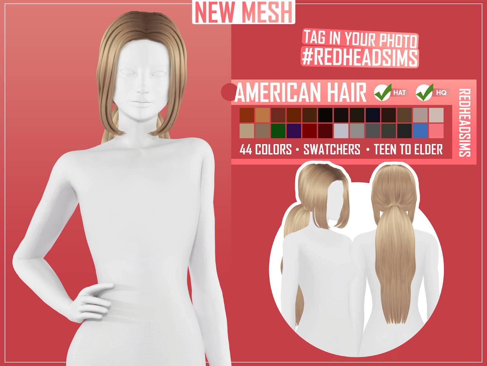 Женская прическа - AMERICAN HAIR