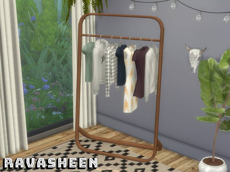 Вешалка с вещами - Don't Be Clothes Minded Clothing Rack
