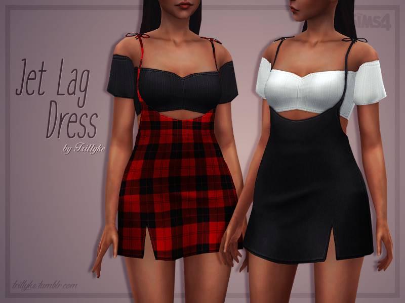 Платье и топ - Jet Lag Dress