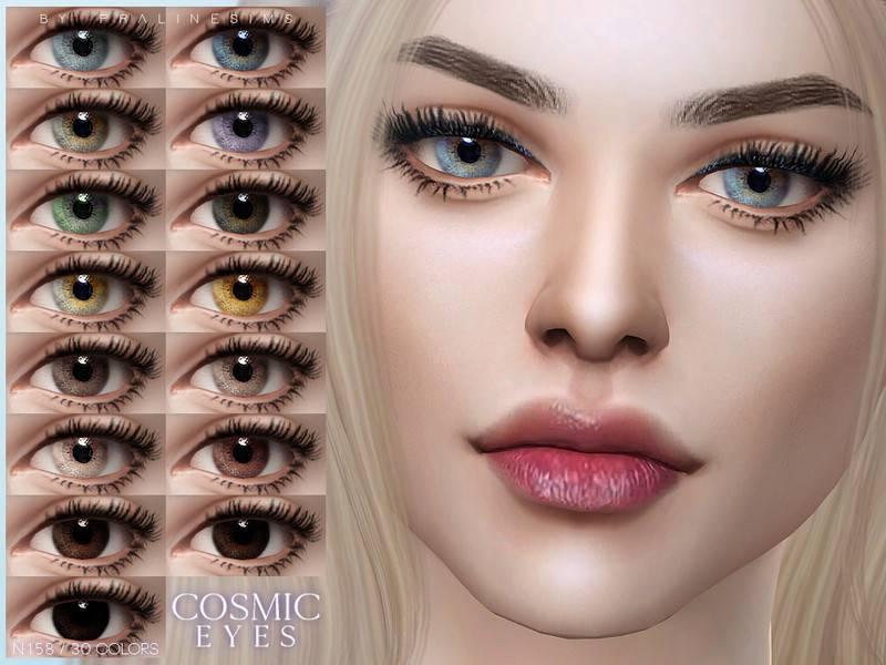 Линзы - Cosmic Eyes N158