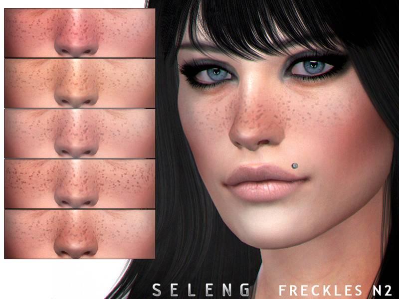 Веснушки - Freckles N2