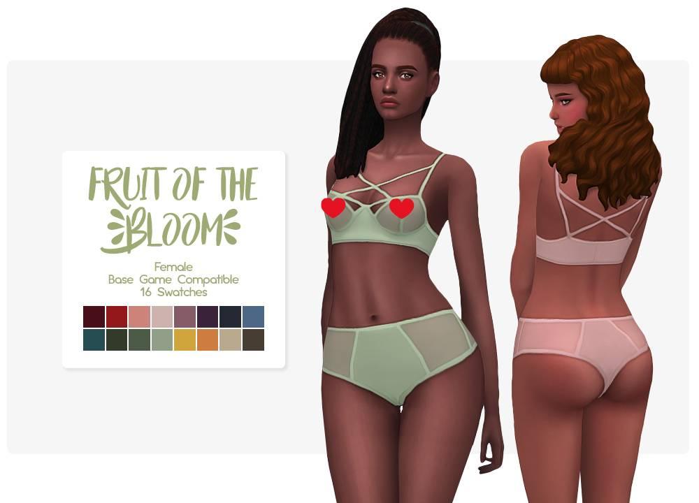 Комплект нижнего белья - Fruit of the Bloom Set