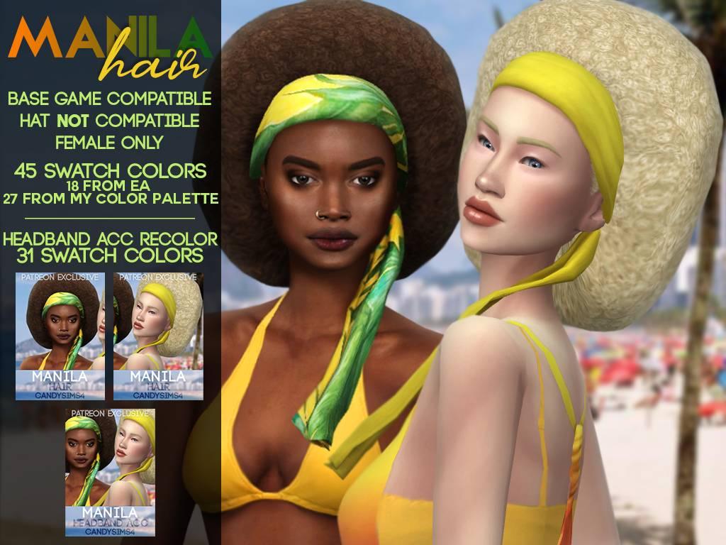Прическа - MANILA HAIR