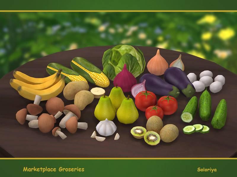Декоративные продукты - Marketplace Groceries