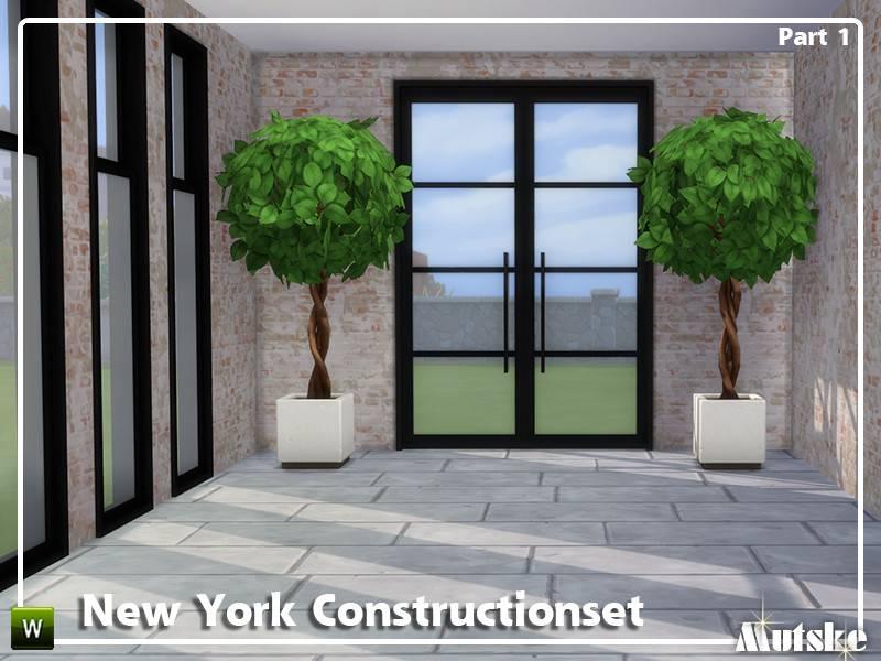 Набор окон, арок и дверей - New York Constructionset Part 1